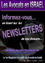 Toutes les Newsletter de nos Avocats. Une source d'infos de derniere minutes.
